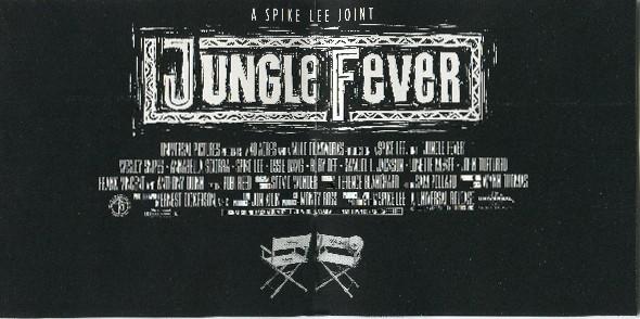 Stevie Wonder Jungle Fever booklet