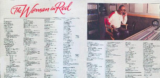 Stevie Wonder The Woman In Red Red stevie wonder - woman